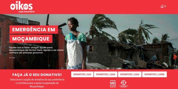 OIKOS Emergência em Moçambique